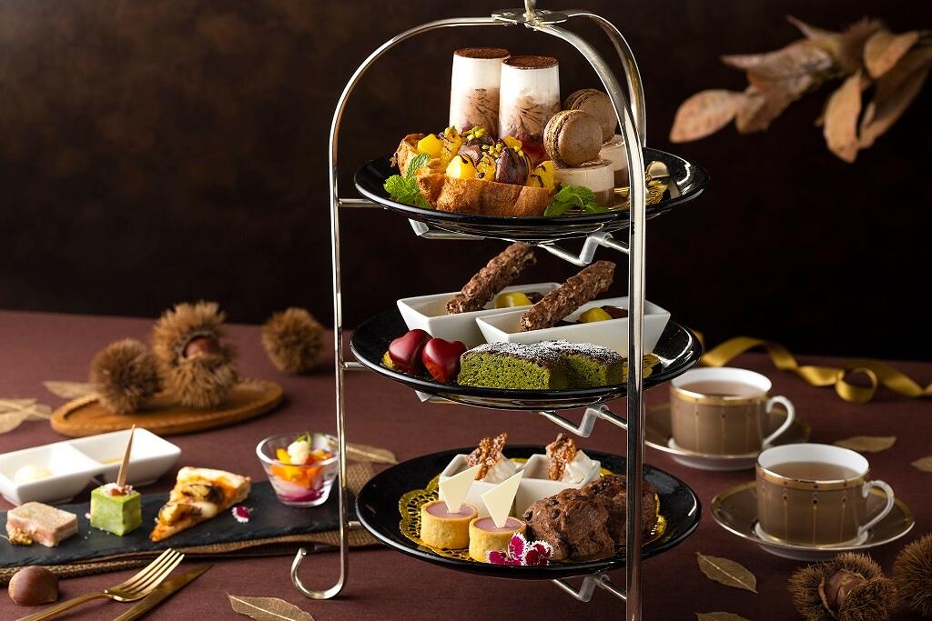 東京ドームホテル チョコレート&マロンアフタヌーンティー