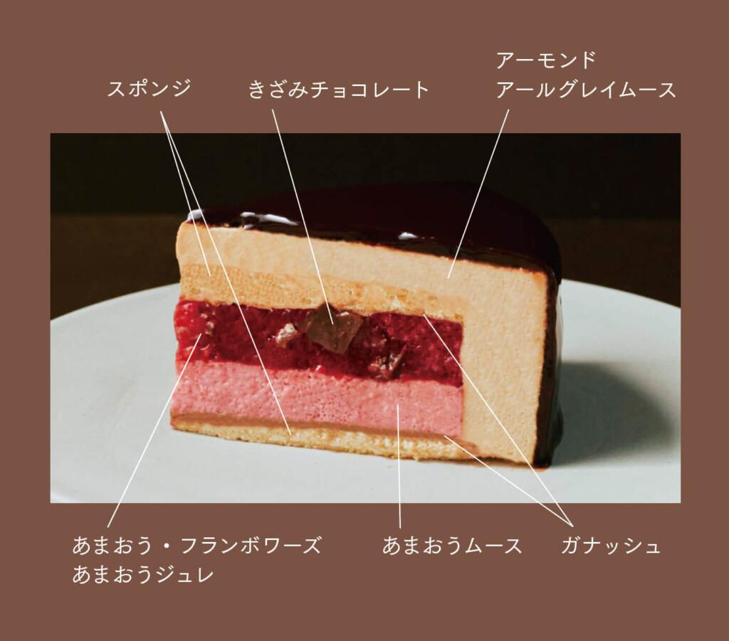 メゾンカカオ MAISON CAKE AMAOU